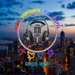 Logo da emissora Rádio Novo Horizonte FM Gospel
