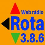 Logo da emissora Rádio Rota 386