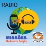Logo da emissora Rádio Missões Madureira Bélgica