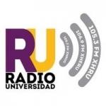 Logo da emissora Radio Universidad 105.7 FM