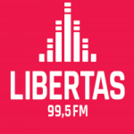 Logo da emissora Rádio Libertas 99.5 FM
