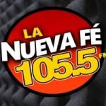 Logo da emissora La Nueva Fé 105.5 FM