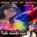 Logo da emissora Rádio Web FM Renata