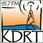 Logo da emissora Radio KDRT 95.7 FM
