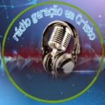 Logo da emissora Web Rádio Geração em Cristo