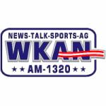 Logo da emissora Radio WKAN 1320 AM
