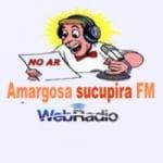 Logo da emissora Rádio Amargosa Sucupira FM