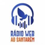 Logo da emissora Rádio Web AD Santarém