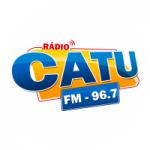 Logo da emissora Rádio Catu FM