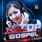 Logo da emissora Rádio Top Gospel Online