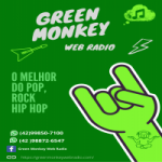 Logo da emissora Rádio Green Monkey