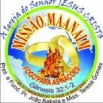 Logo da emissora Missão Maanaim