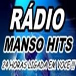 Logo da emissora Rádio Manso Hits