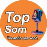 Logo da emissora Rádio Top Som