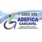 Logo da emissora Rádio Web Adefica Cascavel