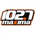 Logo da emissora Radio Maxima 102.7 FM