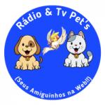 Logo da emissora Rádio TV Pets Bocaina