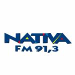 Logo da emissora Rádio Nativa 91.3 FM