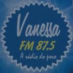 Logo da emissora Vanessa 87.5 FM