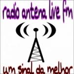 Logo da emissora Rádio Antena Live FM