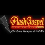 Logo da emissora Rádio Flash Gospel