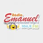 Logo da emissora Rádio Emanuel 104.9 FM