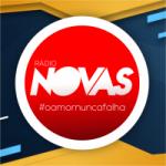 Logo da emissora Rádio Novas