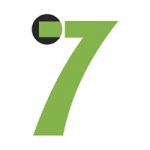 Logo da emissora Seven 103.4 FM