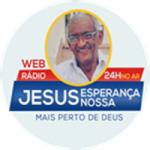 Logo da emissora Rádio Jesus Esperança Nossa