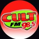 Logo da emissora Rádio Cult 98.5 FM