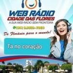 Logo da emissora Web Rádio Cidade Das Flores