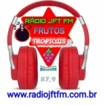 Logo da emissora Rádio JFT FM