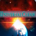 Logo da emissora Universal Clean
