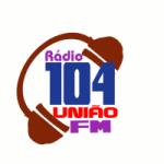 Logo da emissora Rádio 104 União FM