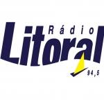 Logo da emissora Rádio Litoral 94.5 FM