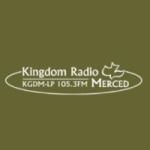 Logo da emissora Radio KGDM 105.5 FM