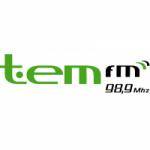 Logo da emissora Rádio Tem 98.9 FM