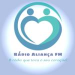 Logo da emissora Rádio Aliança FM Santos