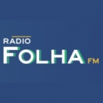 Logo da emissora Rádio Folha FM