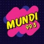 Logo da emissora Rádio Mundi 99.3 FM