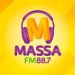 Logo da emissora Rádio Massa 88.7 FM