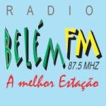 Logo da emissora Rádio Belém 87.5 FM