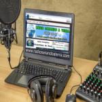 Logo da emissora Rádio Sarando a Terra