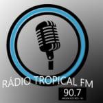 Logo da emissora Rádio Tropicall FM