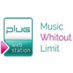 Logo da emissora Rádio Plug Pop & Rock