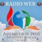 Logo da emissora AD Missões Franca