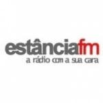 Logo da emissora Rádio Estância 105.9 FM