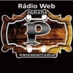 Logo da emissora Parada Universitária