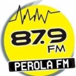 Logo da emissora Rádio Perola 87.9 FM