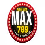 Logo da emissora Rádio Web Max 789